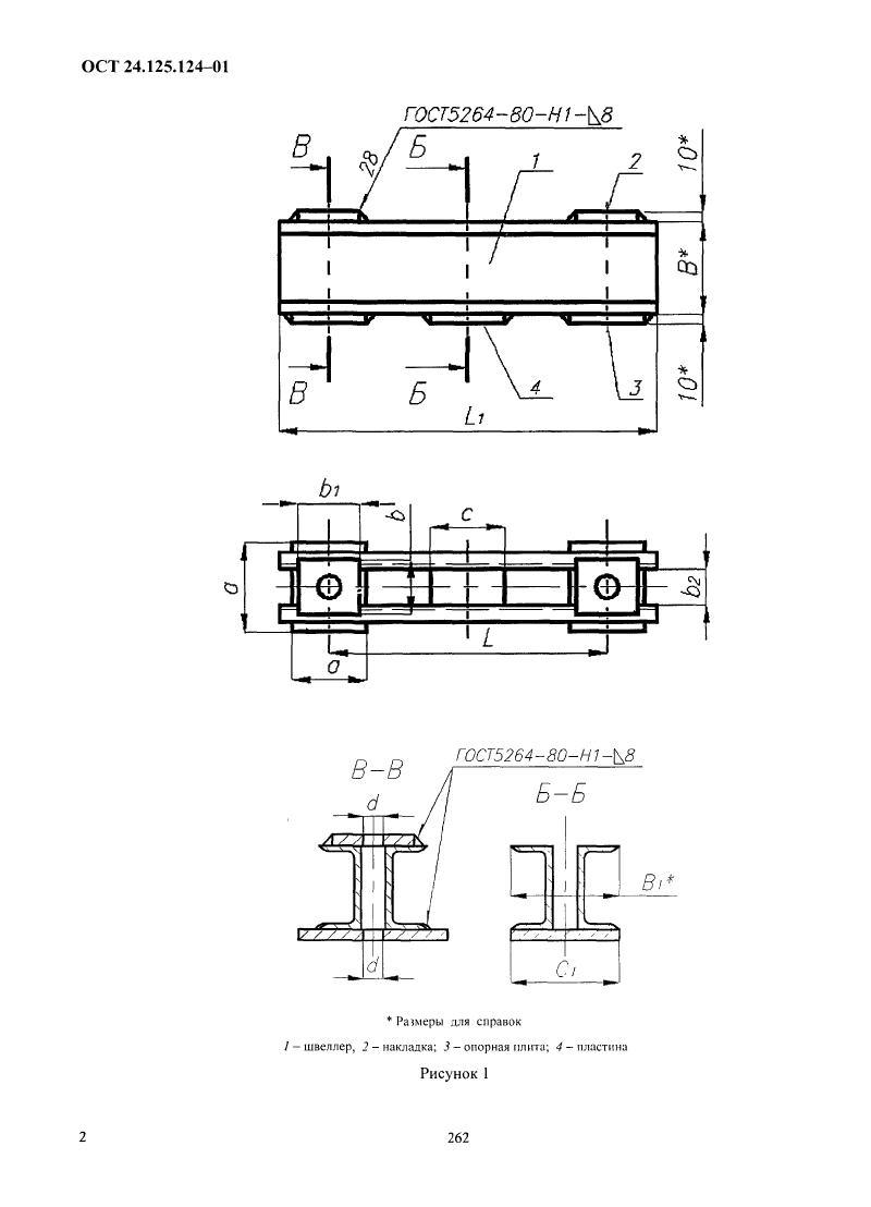 Опоры, пружинные блоки ОСТ 24-125-124-01