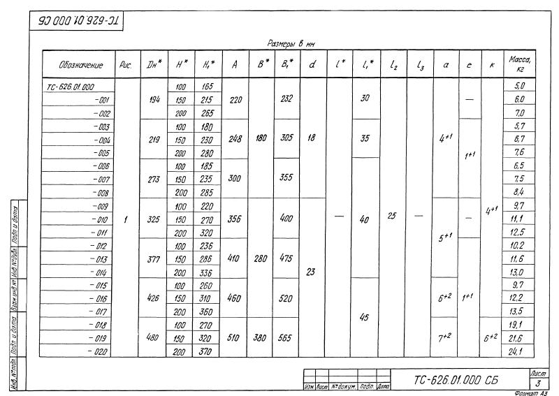 Опора скользящая хомутовая ТС-626.00.000. Страница 08