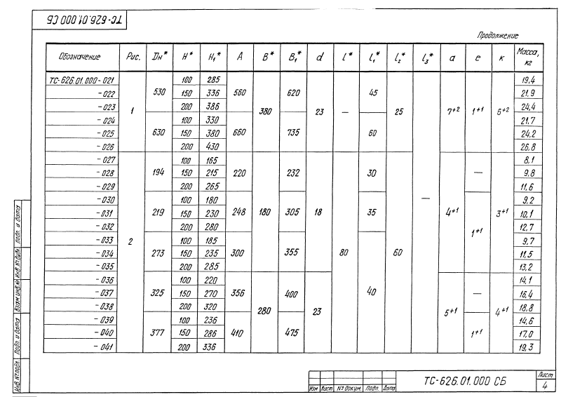 Опора скользящая хомутовая ТС-626.00.000. Страница 09