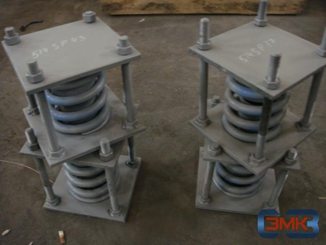 Изготовление подвесных опор трубопровода